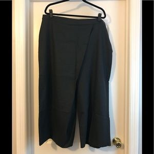 Eileen Fisher-Charcoal-Sarong Pant